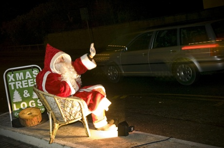 Jason as Santa causing 'being noisy' and upsetting residents