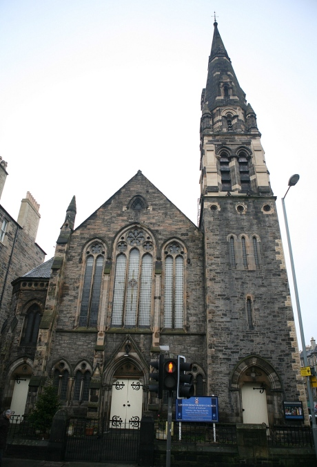 The London Road Church in Edinburgh may soon be transmitting calls and texts for o2.