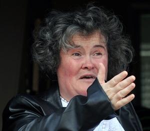 WORRY: Susan Boyle