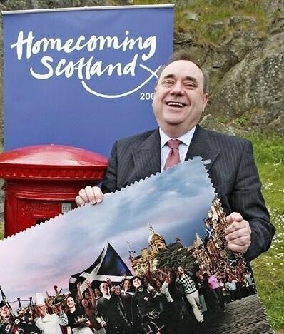 BOOST: Alex Salmond