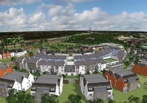 The proposed care village development at Musselburgh