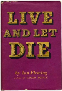 Rare Live and let Die edition found in bin bag