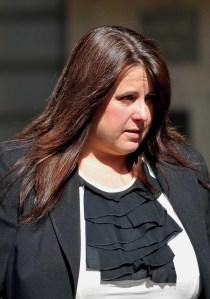 JAILED: shamed bank boss Susan Burnett