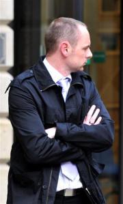 Robin Hay leaving court